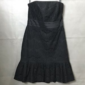 WHBM Lace Strapless Dress Size 6